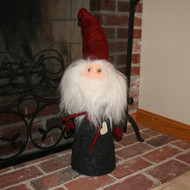 "House Tomte w/Red Felt Hat - 26"" (7484)"