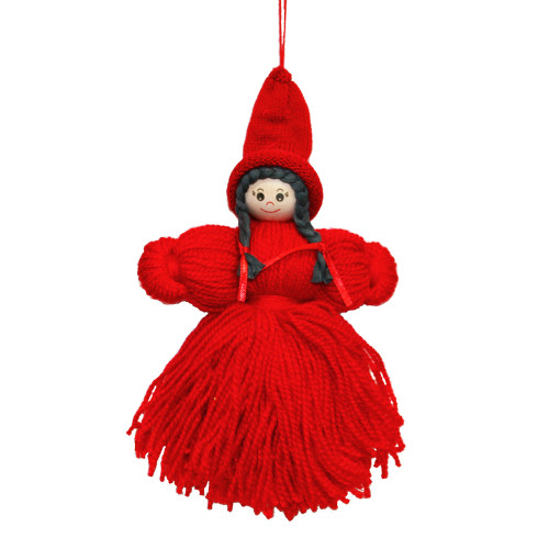 "Tomtemor Yarn Decoration - 12"" Hanging Ornament (7293)"