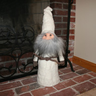 "House Tomte - White Felt - 26"" (7486)"