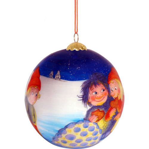 "Rolf Lidberg Christmas Ball Ornament - Snowlight - 3.5"" (3032)"