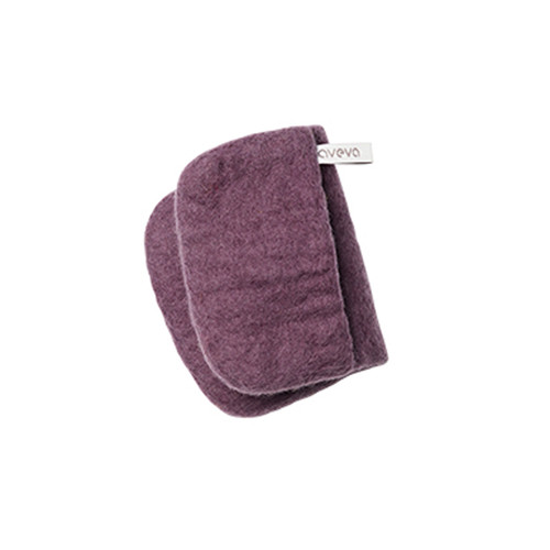 Wool Potholder - Plum (1536)