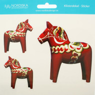 Dalahorse Stickers - Assorted sizes (14113)