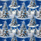 """Wrapping Paper - Blue Trees - 23"""" x 72"""" (14341)"""