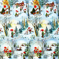 "Wrapping Paper - Winter Fun - 23"" x 72"" (Winter-fun)"
