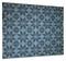 "Plastic Door Mat - Marocko - Blue - 27"" X 36"" (F812)"