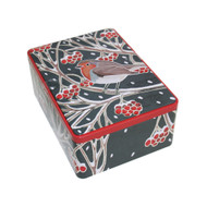 Christmas Robin Tin - Cranberry Biscuits - 400G (624)