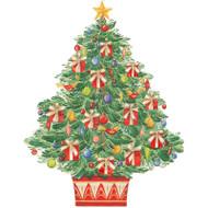 Caspari Advent Calendar - Tree with Gifts (ADV271)