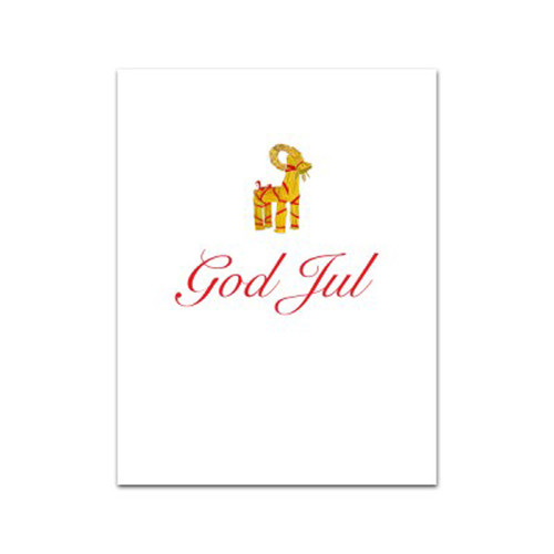 God Jul Julbock Gift Card (AS167)