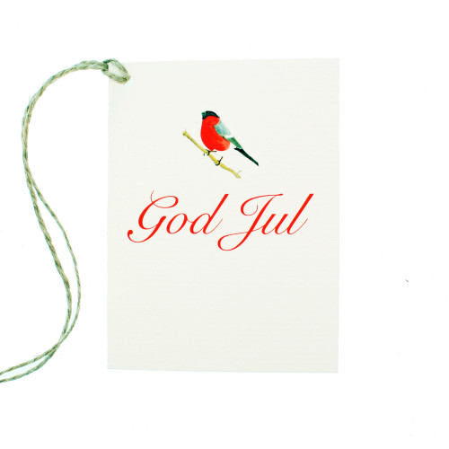 God Jul Domherre Gift Card (AS168)