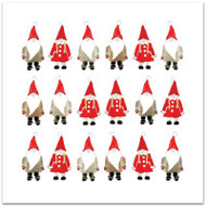 Tomtar God Jul Card - Blank w/Envelope (A173)