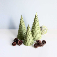 Christmas Trees - Set of 3 - Assorted (100033)
