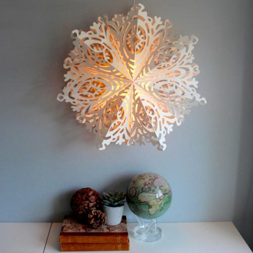 "Paper Snowflake Decoration - Astrid - 17"" (804046)"