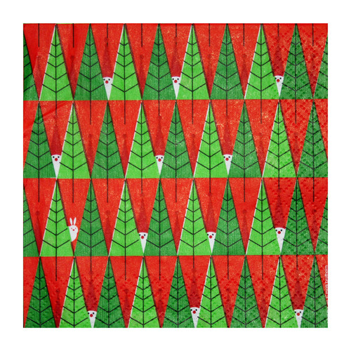 Forest Tomte Christmas Cocktail Napkins - 20 pk (270.96C)