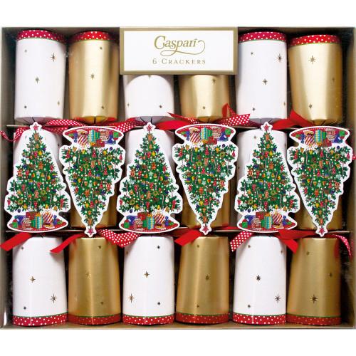Trim A Tree Celebration Christmas Crackers - 6 Per Box (CK061)