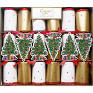 Trim A Tree Celebration Christmas Crackers - 6 Per Box (CK061)