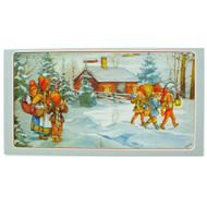 Christmas Card - Jultomtar Special Delivery by Britt Lis Erlandsson (244B)