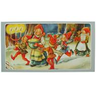 Christmas Card - Jultomtar Feast by Britt Lis Erlandsson (244A)