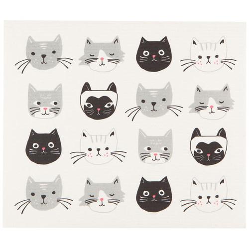 Swedish Drying Mat - Cats Meow (70119)