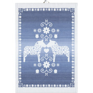 Ekelund Tea/Kitchen Towel - Dalahorse Blue (Dalahorse-011)
