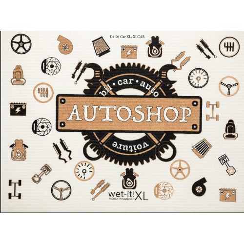 Swedish Drying Mat/Car Sponge - Auto Shop (70134)