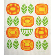 Swedish Dishcloth - Mid Century Blossoms (221.09)