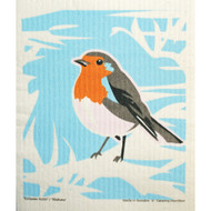 Swedish Dishcloth - European Robin (221.20)