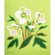 Swedish Dishcloth - Hellebores (221.21)