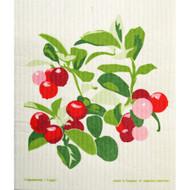 Swedish Dishcloth - Lingonberries (221.29)