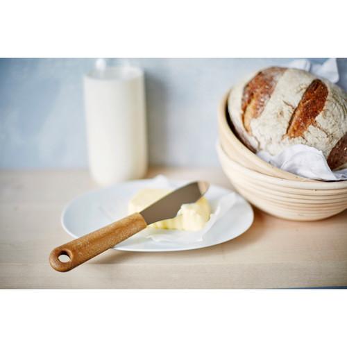 Butter Spreader - Smorkniv - Wooden Handle (7200)