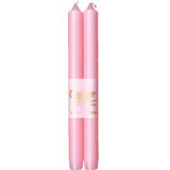 """Caspari Duet Candles - Petal Pink - 10"""" (CA53.2)"""