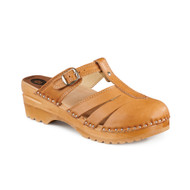 Mary Jane Clog-Sandals - Natural - Women's (6077-363)