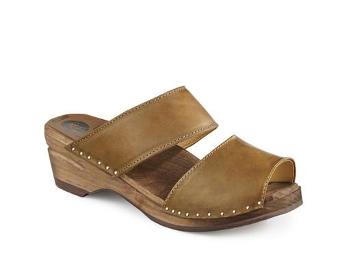 Karin Clog-Sandals - Olive - Women's (381-354)