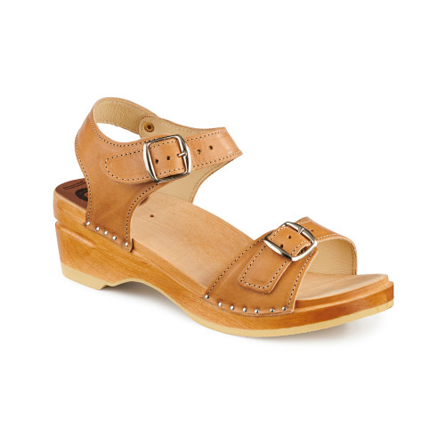 Goya Clog-Sandals - Natural - Women's - Original Sole Collection (128-363)