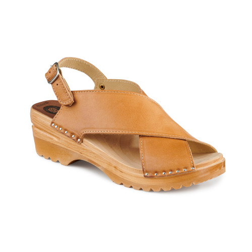 Anita Clog-Sandals - Natural - Women's (016-363)