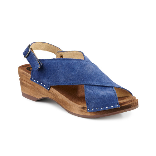Anita Clog-Sandals - Indigo Blue - Women's (016-183)
