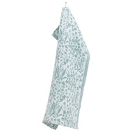 Lapuan Kankurit Tea/Kitchen Towel - Niitty - White/Aspen Green (30647)