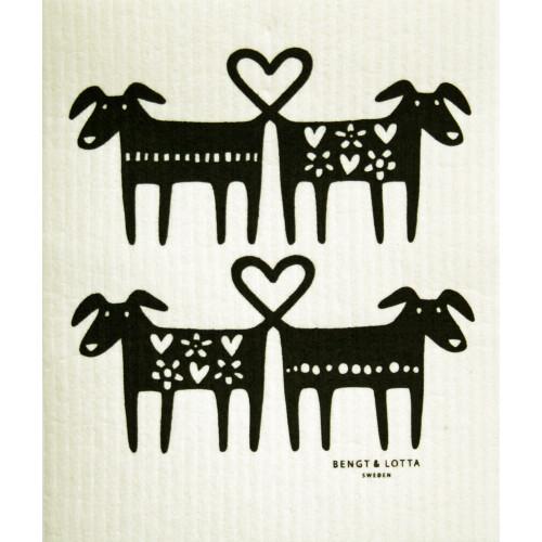Swedish Dishcloth - Dog Lovers (221.36)