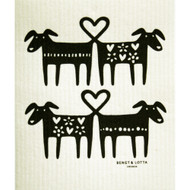 Swedish Dishcloth - Dog Lovers (221.36)