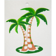 Swedish Dishcloth - Palm Trees (56523)