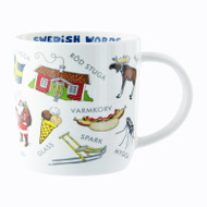 Swedish Words Mug - White (92040)