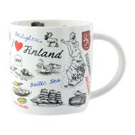 Finland Drawings Mug (92039)