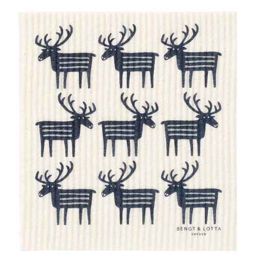 Swedish Dishcloth - Reindeer (600390)