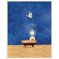 Baby and Star Boxed Christmas Cards - 16 cards and 16 Envelopes (89003)