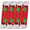 Santa Hat Cone-Shaped Celebration Christmas Crackers - 8 Per Box (CK111)
