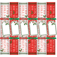Yuletide Cheer Celebration Christmas Crackers - 6 Per Box (CK108)
