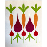 Swedish Dishcloth - Carrots & Beets