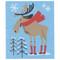 Swedish Dishcloth - Moose In Boots (70140)