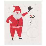 Swedish Dishcloth - Must Be Santa (70142)