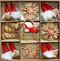 Straw Ornament Assortment - 30 Pc's (H1-3500)