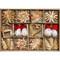 Straw Ornament Assortment - 45 Pc's (H1-3510)